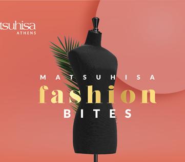 Matsuhisa Fashion Bites on Thursday 18 May