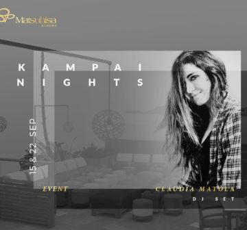 15 & 22 September Kampai Nights in Matsuhisa Athens!